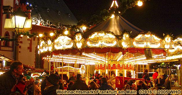 Weihnachtsmarkt Flughafen Frankfurt